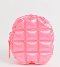 Hype Pink Bubble Mini Backpack