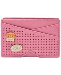 Fossil Card Case Pink