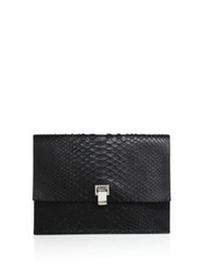 Proenza Schouler Python Large Lunch Bag