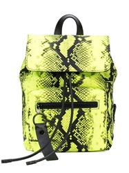 Off White Snake Effect Mini Backpack Yellow