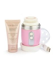 Clarisonic Mia Fit Skin Cleansing System Pink White Blue