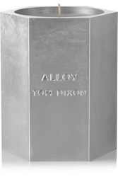 Tom Dixon Alloy Medium Scented Candle One Size Colorless
