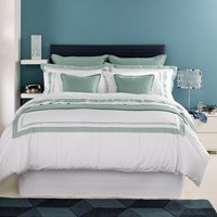 Christy Coniston Duvet Cover Seafoam Super King