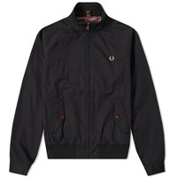 Fred Perry Ealing Bomber Jacket Black