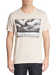 Junk Food Clouds Graphic Tee Foggy Grey