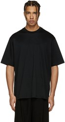 Song For The Mute Black Oversized Beau T Shirt