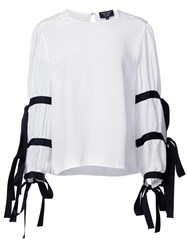 Creatures Of The Wind Tav Blouse White
