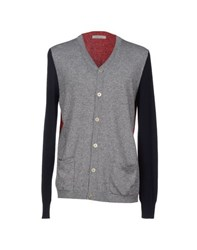 Pierre Balmain Knitwear Cardigans Men Grey