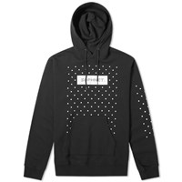 Sophnet. Authentic Logo Dot Hoody Black