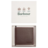 Barbour Leather Wallet Brown