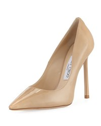 Jimmy Choo Romy Patent Leather 110Mm Pump Nude