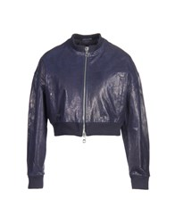 Emporio Armani Jackets Purple