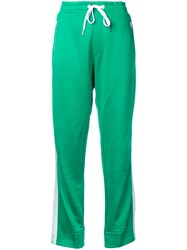 Rag And Bone Track Trousers Women Organic Cotton Recycled Polyester M Green
