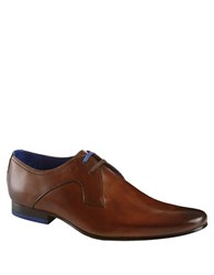 Ted Baker Martt Leather Derby Oxfords Brown Leather