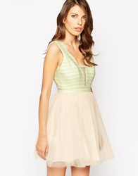 Bcbgeneration Bcbg Generation Tulle Prom Dress Yellow