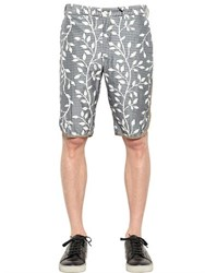 08 Sircus Silk Blend Canvas Shorts