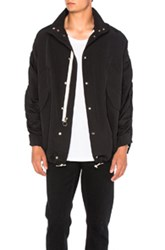 Mr. Completely Cropped Military Parka In Black