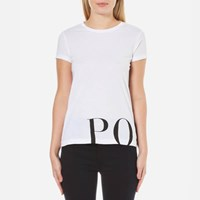 Polo Ralph Lauren Women's Graphic T Shirt White