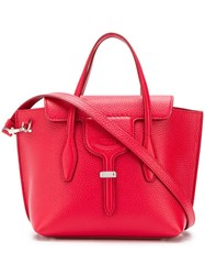 Tod's Joy Mini Tote Red