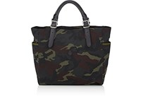 Cledran Men's Camouflage Tote Bag Dark Green