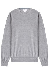 Brioni Wool Pullover Grey
