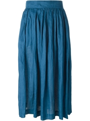 Yves Saint Laurent Vintage High Waist Pleated Skirt