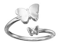 Alex And Ani Ring Wrap Butterfly Rafaelian Silver Ring