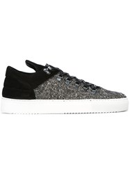 Filling Pieces 'Mountain Cut' Sneakers Black