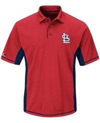 Majestic Men's St. Louis Cardinals Top Of The Inning Polo