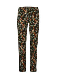 Morgan Exotic Print Flowing Pants Multi Coloured Multi Coloured