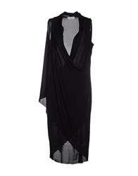 Alberto Biani Dresses Knee Length Dresses Women Black