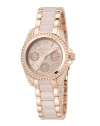 Michael Michael Kors Blair Mini 33Mm Stainless Steel Watch Rose Gold