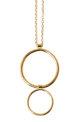 Women's Sarah And Sebastian 'Two Bubble' Pendant Necklace