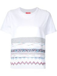 Coohem Tricot Couture T Shirt White