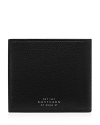 Smythson 6Cc Note Case Black