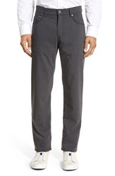 Brax Men's 'Manager' Five Pocket Wool Pants Graphite