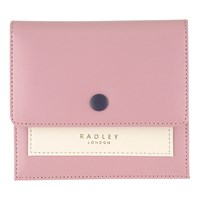 Radley Hatton Leather Small Flapover Purse Pink