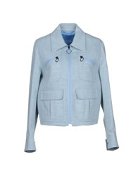 Neil Barrett Denim Outerwear Blue