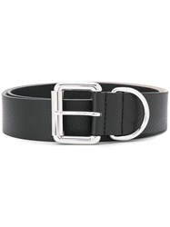 Barbara Bui Cracked Effect Belt Black