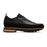 Feit Black Lugged Rubber Sneakers