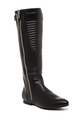 Penny Loves Kenny Calf Matte Tall Boot Black