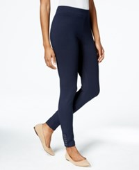 Styleandco. Style And Co. Petite Studded Leggings Only At Macy's