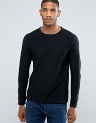 Only And Sons Knitted Jumper Black