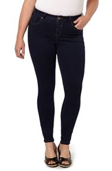Evans Plus Size Women's Stretch Skinny Jeans Indigo