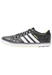 Adidas Golf Adicross Iv Golf Shoes Core Black White Sunny Lime