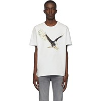 Rag And Bone White Eagle T Shirt