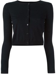 Red Valentino Buttoned Cardigan Blue