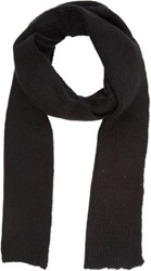 Wooden Ships Skinny Scarf Black
