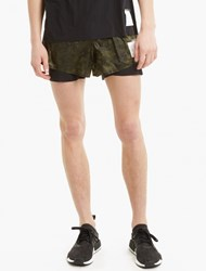 Satisfy Camouflage Short Distance 3 Shorts Silve