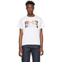 R 13 R13 White Malibu Boy T Shirt